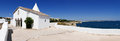 Chapel of Nossa Senhora da Rocha, Portugal - Panorama Picture Royalty Free Stock Photo