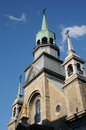 The chapel notre dame de bon secours in montreal canada Royalty Free Stock Photography