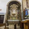 Church of the Flemish Nuns in Alcantara Royalty Free Stock Photo