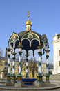 Chapel over the well century architectural ensemble of trinity sergius lavra in sergiev posad Stock Image