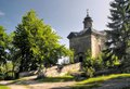 Chapel of panna maria snezna hvezda in broumovske steny mountains in czech republic Stock Images