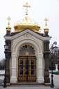 Chapel pechersk lavra monastery in kiev ukraine Stock Photography