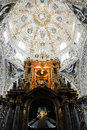 Chapel of the Rosary, Santo Domingo church, Puebla Royalty Free Stock Photo
