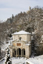 Chapel of sacro monte, varese Stock Photography