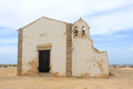 Chapel in sagres algarve portugal simple called nossa senhora da graca Stock Image
