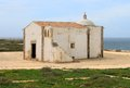Chapel in sagres algarve portugal simple called nossa senhora da graca Royalty Free Stock Image