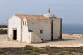 Chapel simple old in sagres portugal Royalty Free Stock Image