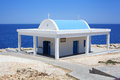 Chapel small greek near cavo greko Royalty Free Stock Photography