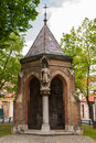 Chapel of st cross in zagreb croatia april croatia Stock Photography