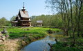 The chapel of st sergius of radonezh in forest on holy spring gremyachiy key Stock Images
