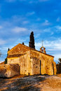 Chapel St. Sixte, Provence Royalty Free Stock Photo