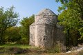 Chapel sv krsevan very old but functional in the woods on the island of krk croatia europe Stock Images