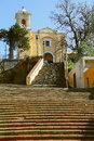 Chapel in tlaxcala I Royalty Free Stock Photo