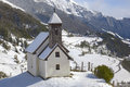 Chapel in tyrol Royalty Free Stock Images