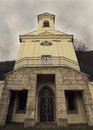 Chapel of virgin mary the is a classic building situated in the only cemetery in snina in slovakia Stock Photography