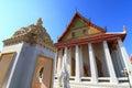 Chapel in wat intharam wat bang yi ruea nok the old uposatha of thonburi bangkok thailand Stock Photo