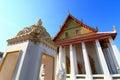 Chapel in wat intharam wat bang yi ruea nok the old uposatha of thonburi bangkok thailand Stock Image