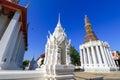Chapel in wat intharam wat bang yi ruea nok the old uposatha of thonburi bangkok thailand Royalty Free Stock Photography