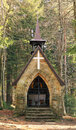 Chappel in beskydy mountains old on visalaje the forest Royalty Free Stock Photo