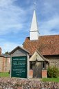 Chappel essex uk traditional village church aug Royalty Free Stock Image