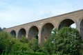 Chappel viaduct colne valley essex Royalty Free Stock Photo
