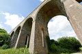 Chappel viaduct essex uk victorian brick built railway in the english countryside Royalty Free Stock Photo