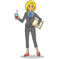 Character of business women cartoon
