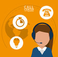 Character call center headset support worldwide