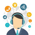 Character call center world service