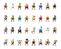 Character collection clipart Royalty Free Stock Photo