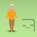 Character of elderly professor