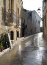Characteristic alley of Monopoli. Apulia. Stock Photo
