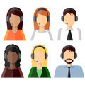 6 characters, Call center, icon