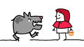 Characters - little red riding hood