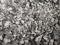 Charcoal and ashes burnt background Royalty Free Stock Photo
