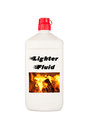 Charcoal lighter fluid Royalty Free Stock Photography