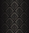 Charcoal seamless wallpaper - style retro. Stock Photos