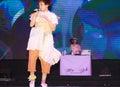 Charisma com bangkok aug show at japan expo thailand on august at central world bangkok thailand Royalty Free Stock Images
