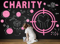 Charity Aid Donation Awareness Concept Royalty Free Stock Photo