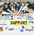 Charity Community Share Help Concept Royalty Free Stock Photo