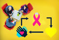 Charity donate help give sharing support concept Royalty Free Stock Photo