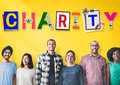 Charity support help welfare donation concept Stock Photo