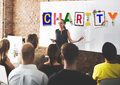 Charity Support Help Welfare Donation Concept Royalty Free Stock Photo