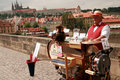 Charles Bridge. Prague Royalty Free Stock Photos