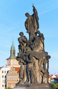 Charles Bridge (Prague, Czech Republic). Stock Photo