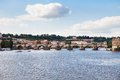 Charles bridge, Prague, Czech Republic,, Royalty Free Stock Photography