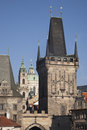 Charles Bridge; Prague; Czech Republic; Royalty Free Stock Photography