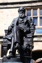 Charles Darwin Statue, Shrewsbury. Royalty Free Stock Photo