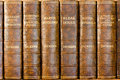 Charles Dickens books Royalty Free Stock Photo