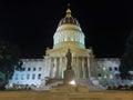 Charleston West Virginia State Capitol Building Night